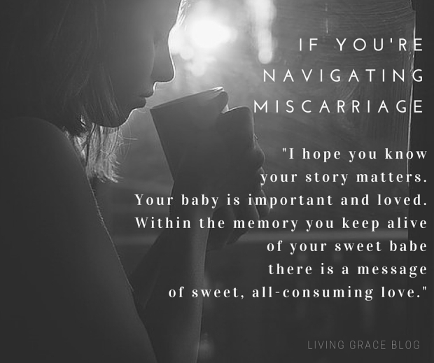 grieving after miscarriage
